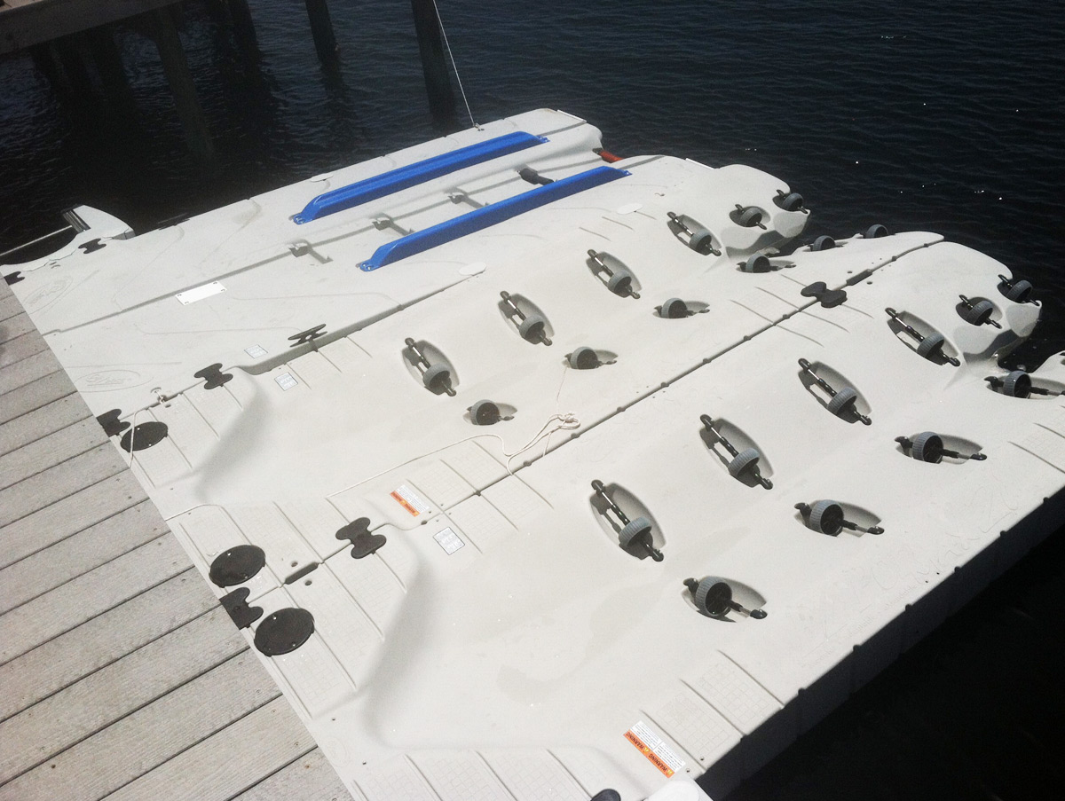 EZ Dock Floating Boat & PWC Storage Station