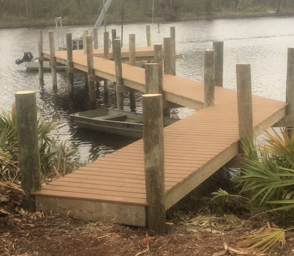 Boat dock construction