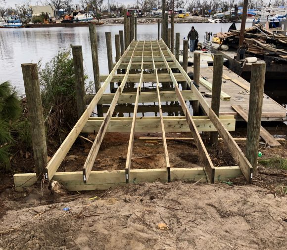 Dock Construction